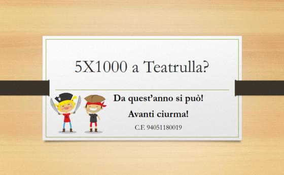 5×1000 a Teatrulla