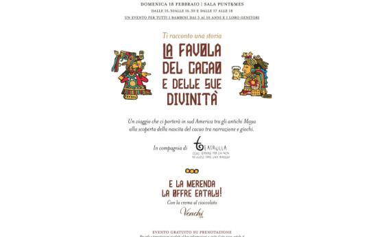 Teatrulla da Eataly per Storie di Cioccolato!